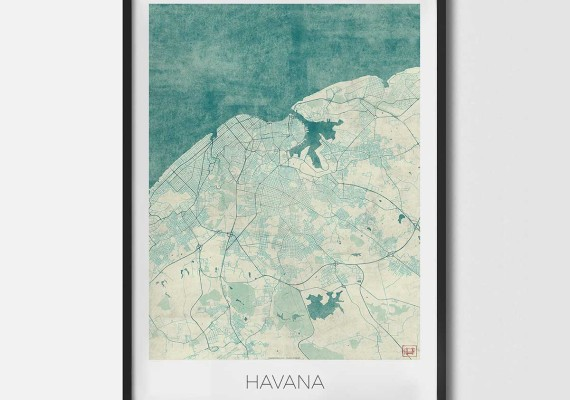City art posters map posters and art prints college town map art havana city art city art posters city art prints city map art city map art prints gumiabroncs Images