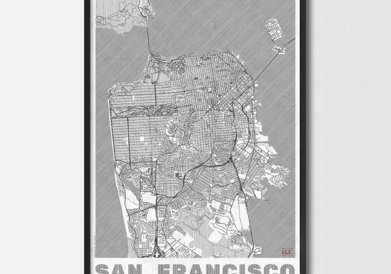 City Art Posters Map Posters And Art Prints Design Your Own - Create Your Own Us Map