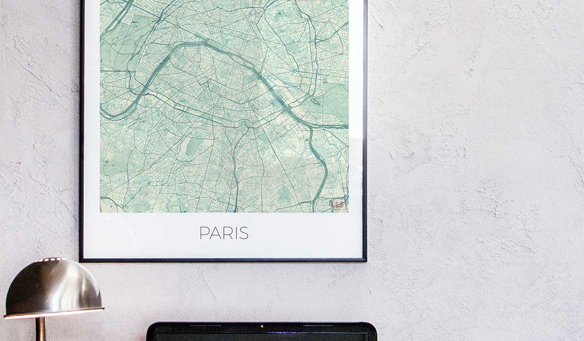 City Art Prints Map Posters city map art posters city map prints city posters