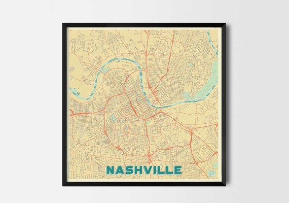 nashville local maps for sale local maps to print local street map location poster london neighborhood