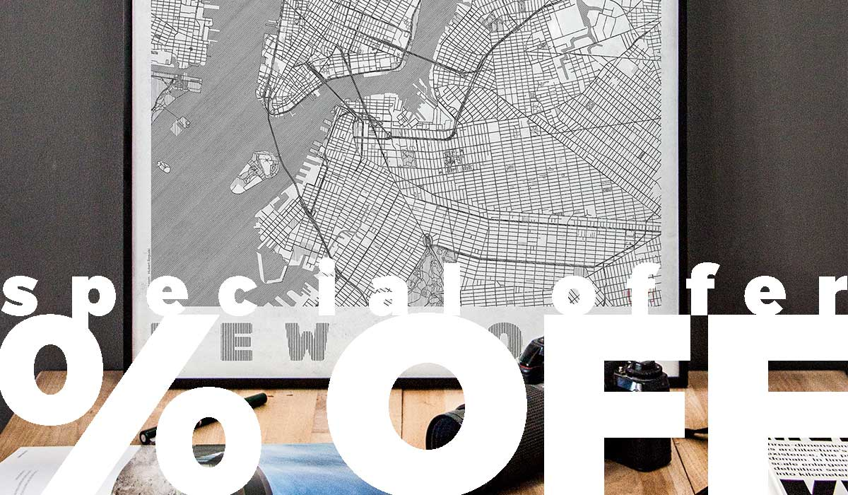 city map art posters