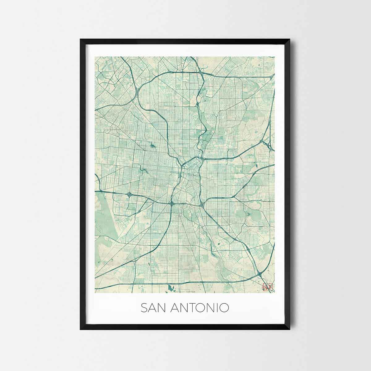 San Antonio art posters - City Art Map Posters and Prints on bandera city map, lewisville city map, north dallas city map, seattle city map, port st lucie city map, texas map, boston city map, bexar county zoning map, st george city map, minneapolis st paul city map, alamo heights city map, albuquerque city map, santa fe city map, schertz city map, lockhart city map, cabo san lucas city map, greater phoenix city map, richardson city map, el centro city map, pierre city map,